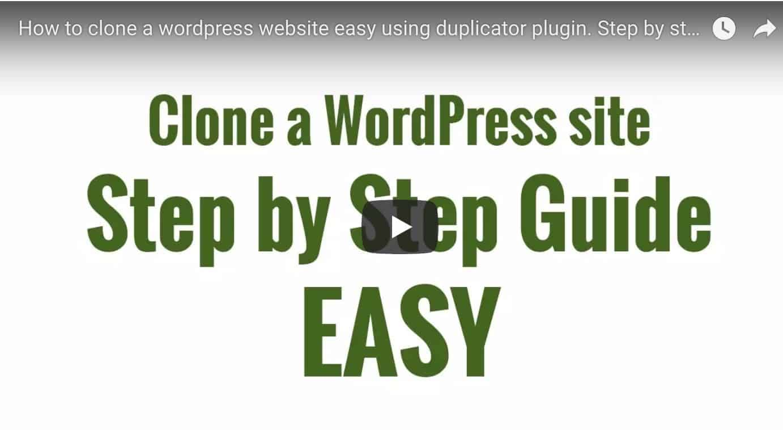 How to clone a website guide