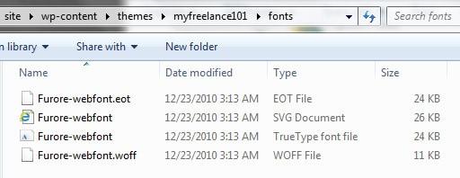 font-files