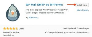 Wordpress email plugin
